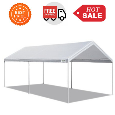 10' X 20' Portable Heavy Duty Canopy Garage Tent Carport ...