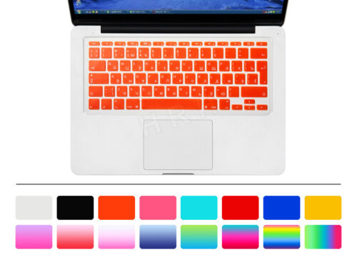 """Russian Silicone EU Keyboard Cover Skin Protector For Macbook Air 11.6 Inch 11/"""""""