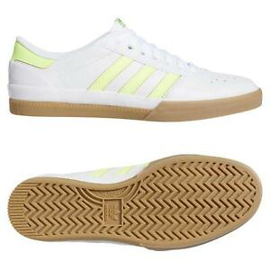 Adidas-Originals-Homme-Lucas-PREMIERE-Chaussures-Blanc-Puig-Skateboard-Baskets