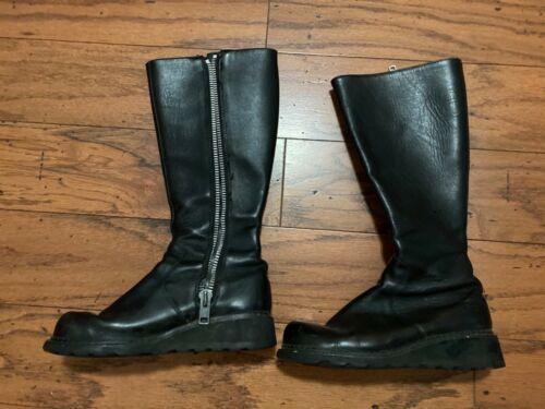 John Fluevog Black CeCe Boots 9