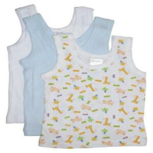 Bambini Boys Printed Tank Top Variety 3 Pack Nourrir Les Reins Soulager Le Rhumatisme