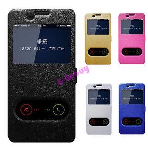 Magnetique-Soie-Stand-en-Cuir-PU-Fenetre-Etui-pour-Samsung-Smartphone-2017