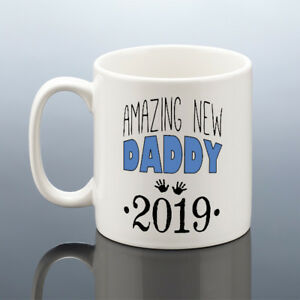 Details About AMAZING NEW DADDY MUG Daddy Birthday Gift 2019 New Dad Cup To Be 2018