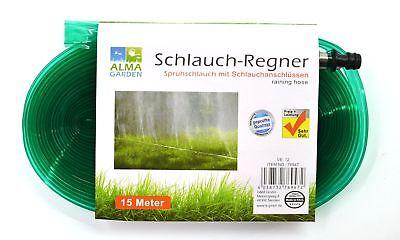 Sparsam Schlauchregner 15 Meter   Sprühschlauch   Rasensprenger   Bewässerungsschlauch