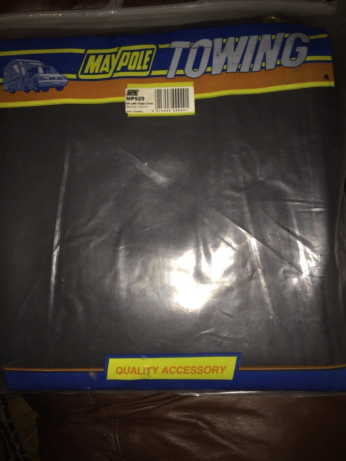 NEW Genuine Maypole MP929 PVC Cloth Trailer Cover 6/' X 4/'