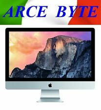 "APPLE IMAC 27"" INTEL CORE i7 * RAM 8 * GB HD 1TB * FATTURABILE * 10.12 SIERRA *"