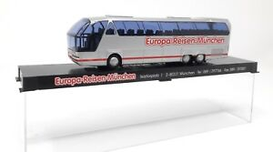 AWM-BUS-NEOPLAN-n516-Starliner-Europa-Viaggi-MONACO-h0-1-87-plastica-vetrina