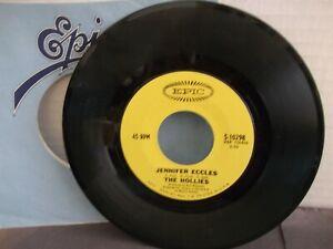 The-Hollies-Epic-10298-034-Jennifer-Eccles-034-US-7-034-45-yellow-labels-1968-Mint