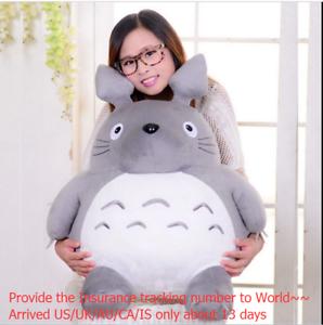45cm-Giant-Big-Totoro-Plush-Toy-Hobbies-Rare-Stuffed-Totoro-Grey-Anime-Doll-gift