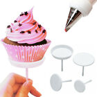 4x Cake Flower Nail Set Handle Cupcake Decorating Icing Cream Sugarcraft Tools