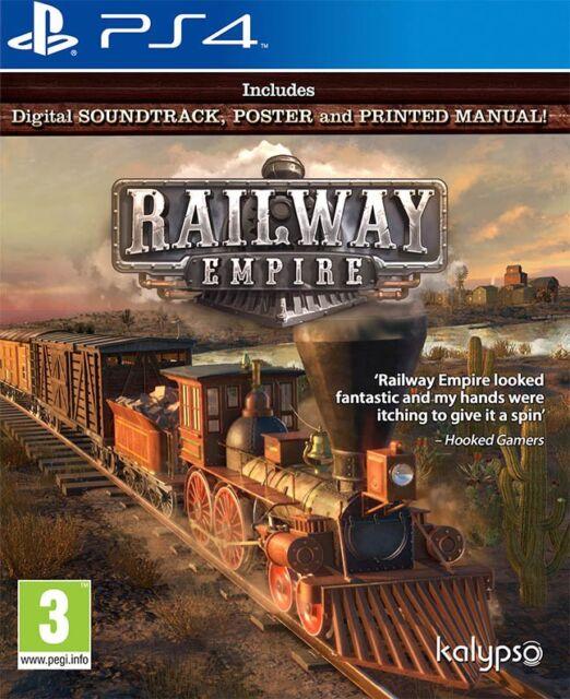 Ferrovia Empire (PS4) Nuovo e Sigillato - in Stock - Veloce