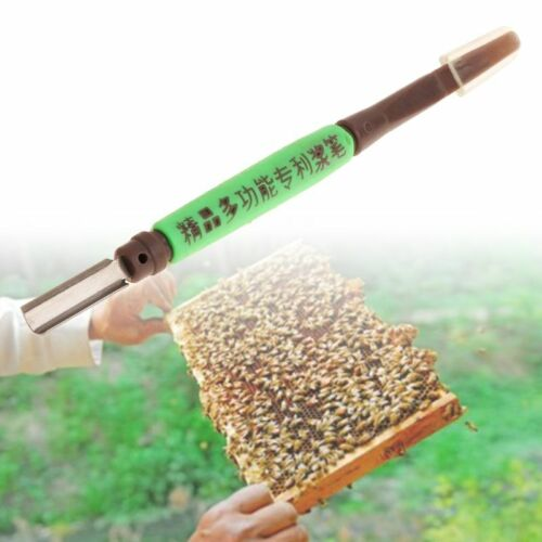 Spatula Bee Scraping Pen Beekeeping Royal Jelly Scraper Rearing Grafting Tool