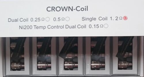 MULTI-LISTING Uwell Crow tank /&  Coils 0.15//0.25//1.2ohm MULTI-LISTING