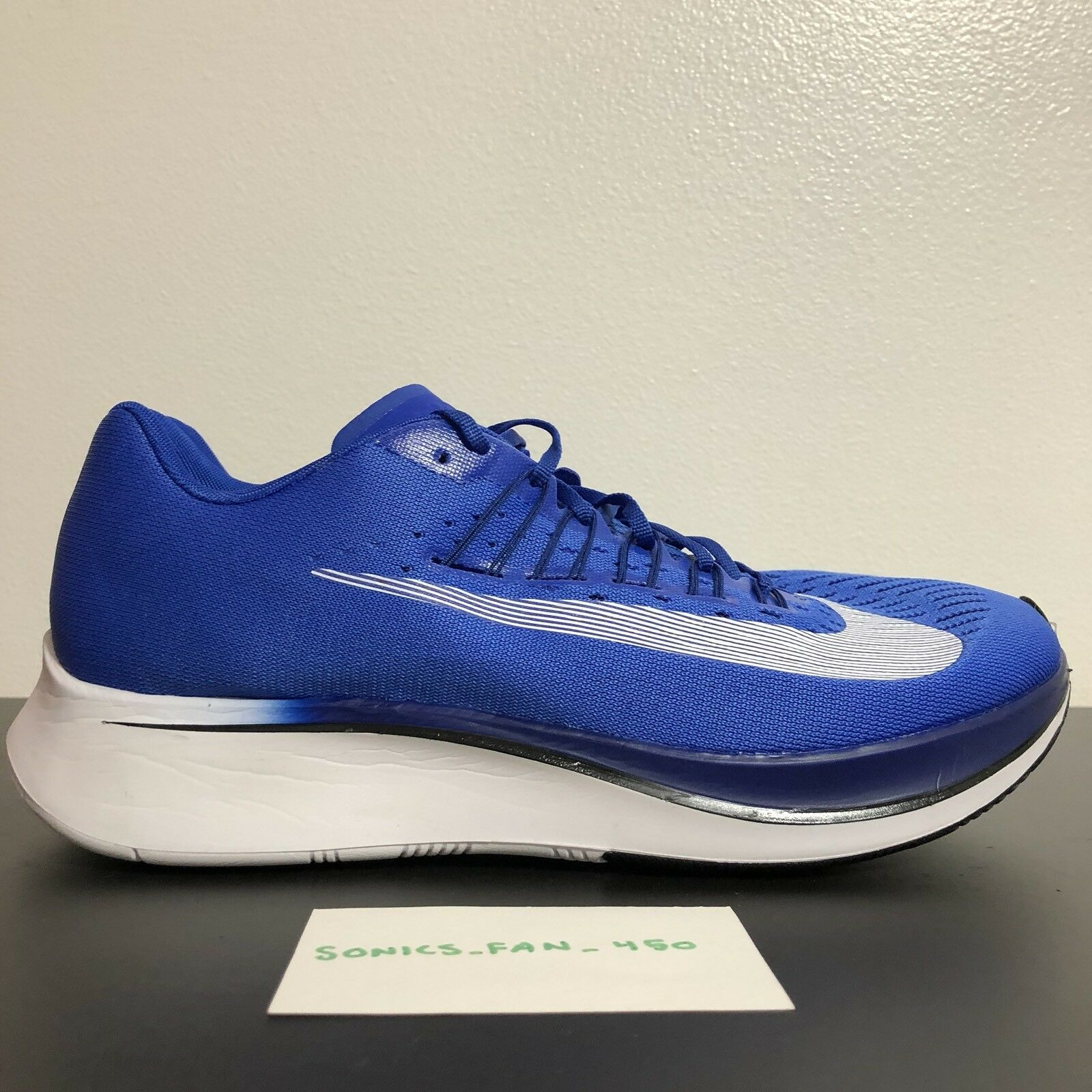cba3c57c721d Nike Zoom Fly Size 13 Hyper Blue White White White Running Shoes Sneakers  880848-411