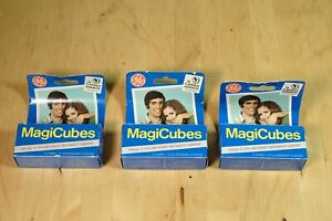 Lot of (3) GE Magic Cubes 3-Packs (9) Flash Cubes (36) Total Flashes NOS