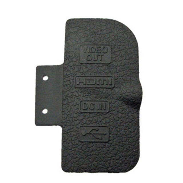 New Replacement Part for Nikon D300 USB/HDMI DC IN/VIDEO OUT Rubber Door Cover