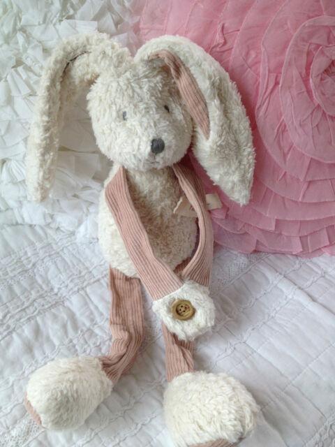 Charlie Bears Nursery Baby Organics Large Fee Bee Bunny 47cm Newborn Nursery Toy