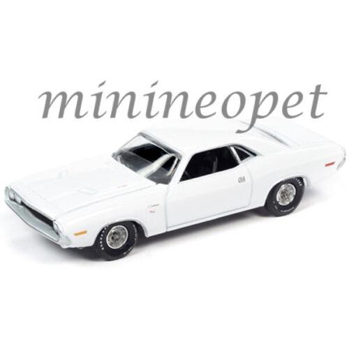 AUTOWORLD AWSP050 B HEMMINGS 1970 DODGE CHALLENGER R//T 1//64 WHITE