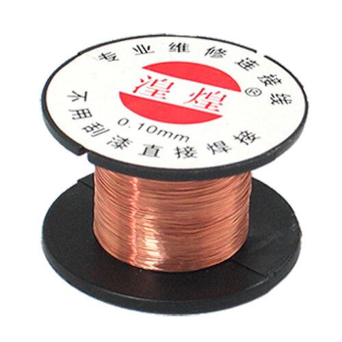 Generisches 0,1 mm Durchmesser Kupfer Loeten Emaillierte Drahtrolle GY G1I6