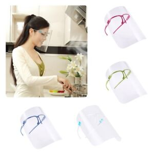 Cocina Anti-Oil Splash Face Shield Anti-Spitting Protective Clear Face Cover Protector Cooking Gadget Tool
