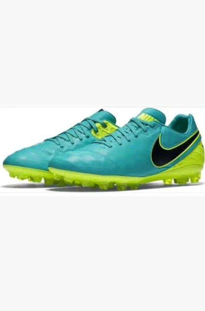 Nike 819217-307 Tiempo Legacy II AG-R homme Socer Cleats Football chaussures Taille 9