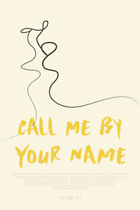 Call Me By Your Name Movie Poster Luca Guadagnino Timothée Chalamet