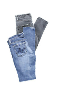 Adriano-Goldschmied-Topshop-Womens-Super-Skinny-Ankle-Jeans-Size-Gray-Blue-Lot-2