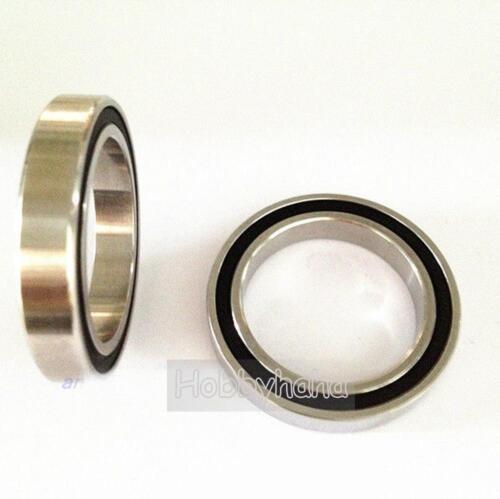 6806-2RS Si3n4 30*42*7mm Stainless Steel Full sealed Hybrid Ceramic Ball Bearing