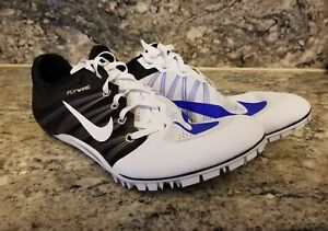 050c8dcd3818f Nike Zoom Ja Fly 2 Spikes Running Shoes White Blue Black 705373-100 ...