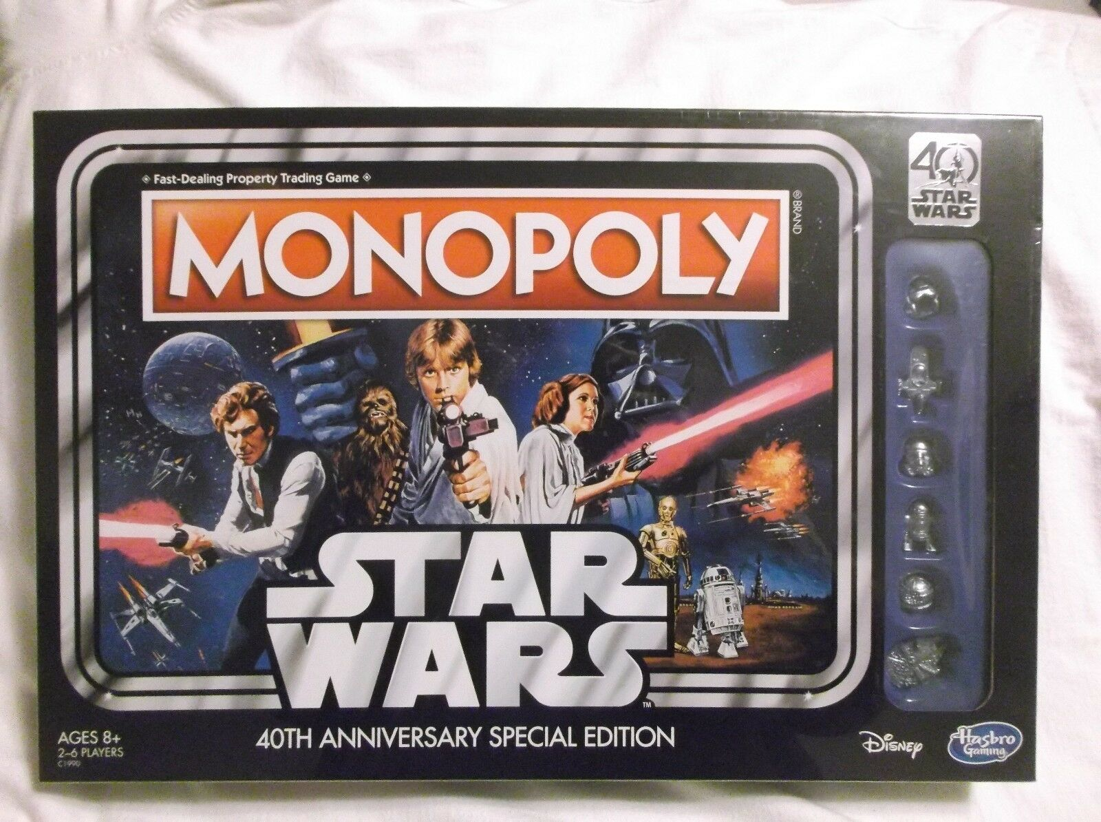 Monopoly : Star Wars 40th Anniversary Special Edition Nuovo