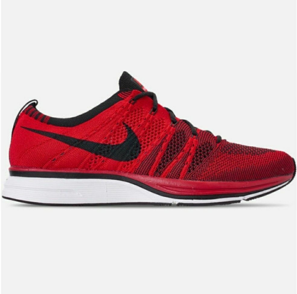 NIKE Flyknit Trainer Mens Training shoes University Red AH8396601 Multiple Sizes
