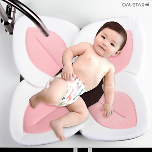 Baby-Blooming-Bath-Mat-Lotus-Flower-Sink-Bathtub-Mat-0-12mths-Safe-amp-Comfy