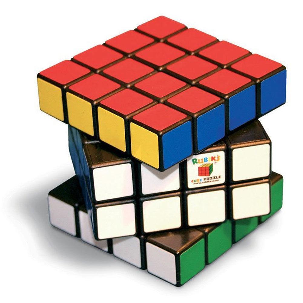 MAC DUE Gioco Cubo di Rubik 4x4 Rubiks Puzzle 35x18x14cm Cube in Plastica