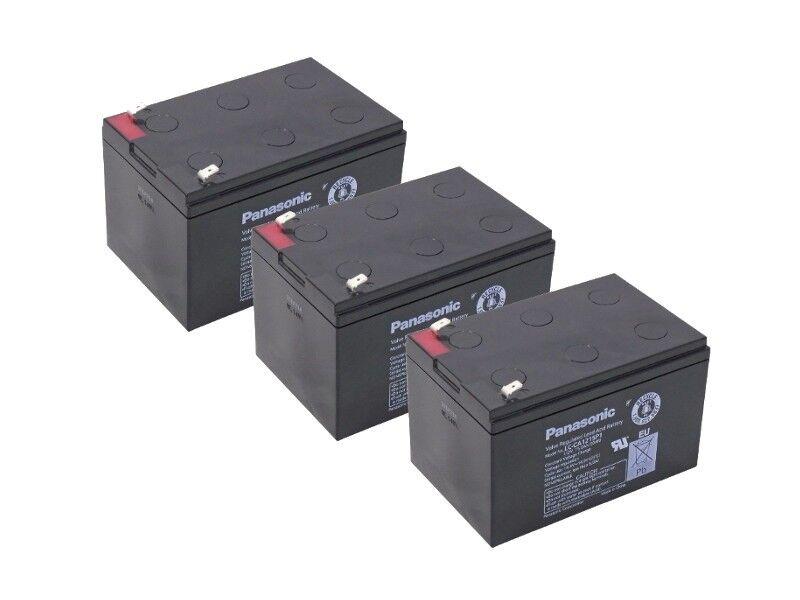 Kompatibler Accu 36V 3x 12V 15Ah Batterie Scooter Elektro Roller AGM Blei Akku