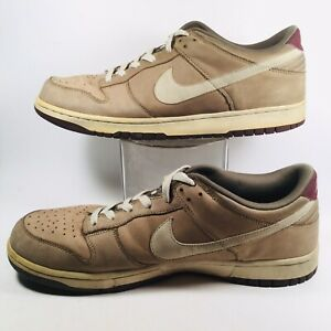 Nike VTG 2007 Dunk Low 6.0 3442 Mens Basketball Shoes Sneakers Khaki ... e3747bc5053
