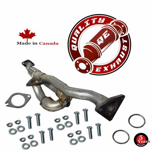 2002-2003 NISSAN MAXIMA 3.5L direct fit Y PIPE FRONT FLEX
