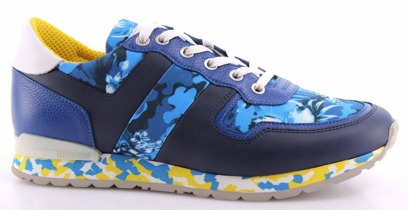 shoes men Sneakers BIKKEMBERGS BKE107905 Mant 338 Lshoes M Leat bluee Camouflage