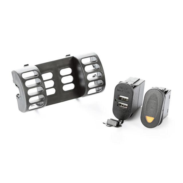 AC Vent Switch Pod 1 Switch USB 1997 to 2006 Jeep Wrangler TJ LJ X 391723581