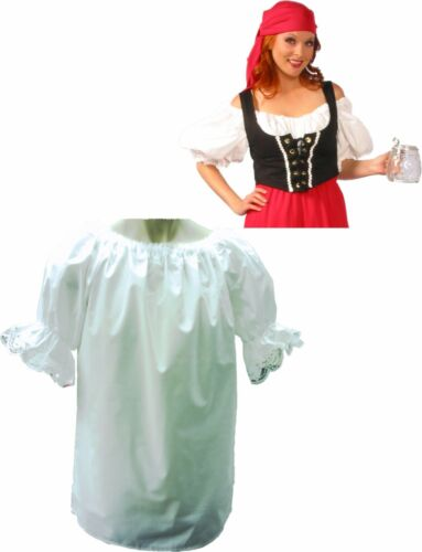Renaissance Blouse Pirate Wench Adult Costume Theme Wedding Theater