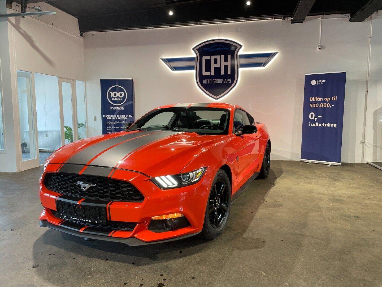 Ford Mustang 2,3 EcoBoost Fastback 2d - 4.996 kr.