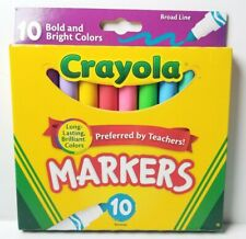 Crayola Classic Broad Line Markers Assorted Colors 10pk