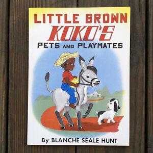 Original-1959-LITTLE-BROWN-KOKO-039-S-PETS-AND-PLAYMATES-Paperback-Book-Unused-NOS