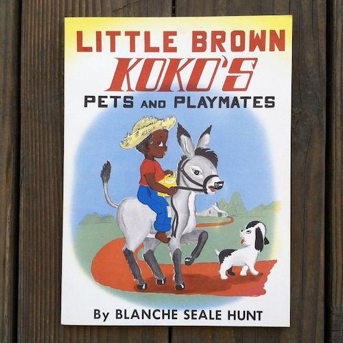 Original 1959 LITTLE BROWN KOKO'S PETS AND PLAYMATES Paperback Book Unused NOS