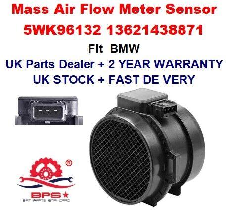 BMW 3 5 X5 Z3 E46 E39 MASSA Air Flow Meter Sensore 5WK96132 5WK96132Z 13621438871