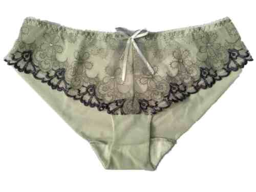 New Green Briefs Shorty Boyshorts Style KEIA Collette Knickers Pants Floral