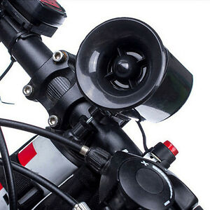 Ultra-loud-Speaker-Black-Electronic-Bicycle-6Sounds-Alarm-Bike-Bell-Siren-Horn