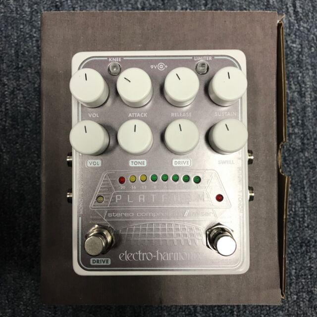 Electro-Harmonix Platform Stereo Compressor Limiter pedal