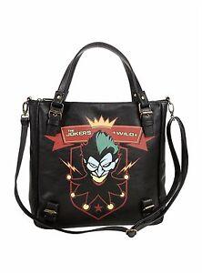 91ad561cc4 Image is loading DC-Comics-Bombshells-Harley-Quinn-Jokers-Wild-Shoulder-
