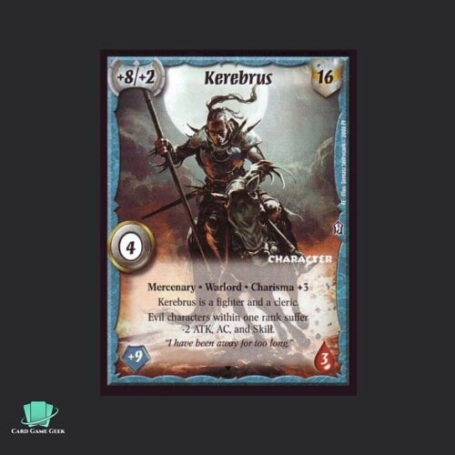 Warlord Saga of the Storm SotS CCG Magma Gargoyle