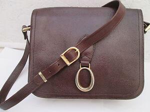 46fc9c72ae AUTHENTIQUE sac à main POURCHET cuir TBEG vintage bag | eBay